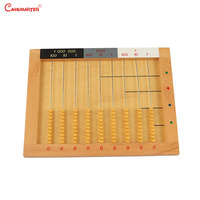 Educational Math Toys Wood Montessori Material Abacus Soroban Baby Teach Aids Math Toy Number Learn Children Games MA074 46