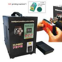 SUNKKO 737B Spot Welders 1 5kw Precision Pulse Battery Spot Welder Led Light Welding Machine For