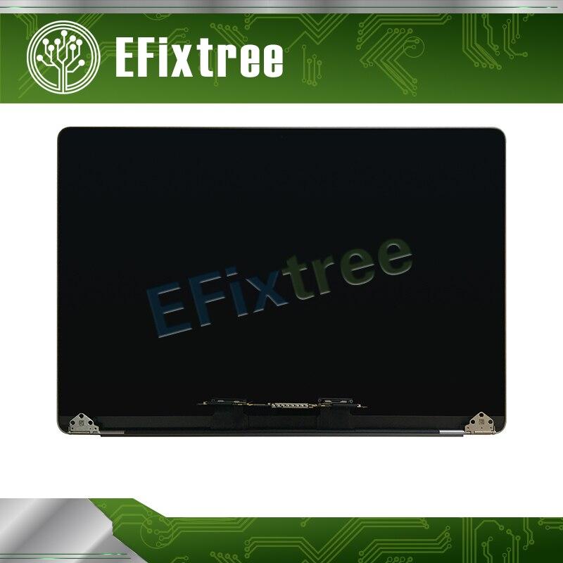 Espace Gris 2016 2017 Année 15 A1707 Assemblée D'écran Pour Macbook pro Retina 15.4 A1707 LCD LED Affichage EMC 3162 EMC 3072