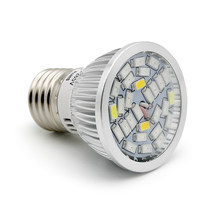 Full Spectrum 5730 E27 28W 28 SMD LED Grow Light 220V 110V Plant Growing Lamp Blub for Indoor Flower Hydroponics Box Tent(China)