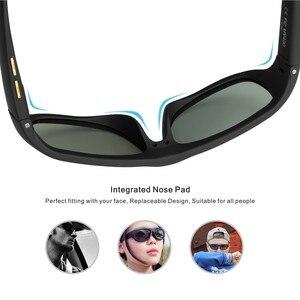 Image 4 - Männer Sonnenbrille mit Variable Elektronische Farbton Control Objektiv Smart Sonnenbrille Männer Polarisierte für Fahren Angeln Reisen 2018 Neue