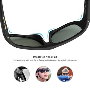 Image 4 - Men Sunglasses with Variable Electronic Tint Control Lens Smart Sunglasses Men Polarized for Driving Fishing Travelling 2018 New