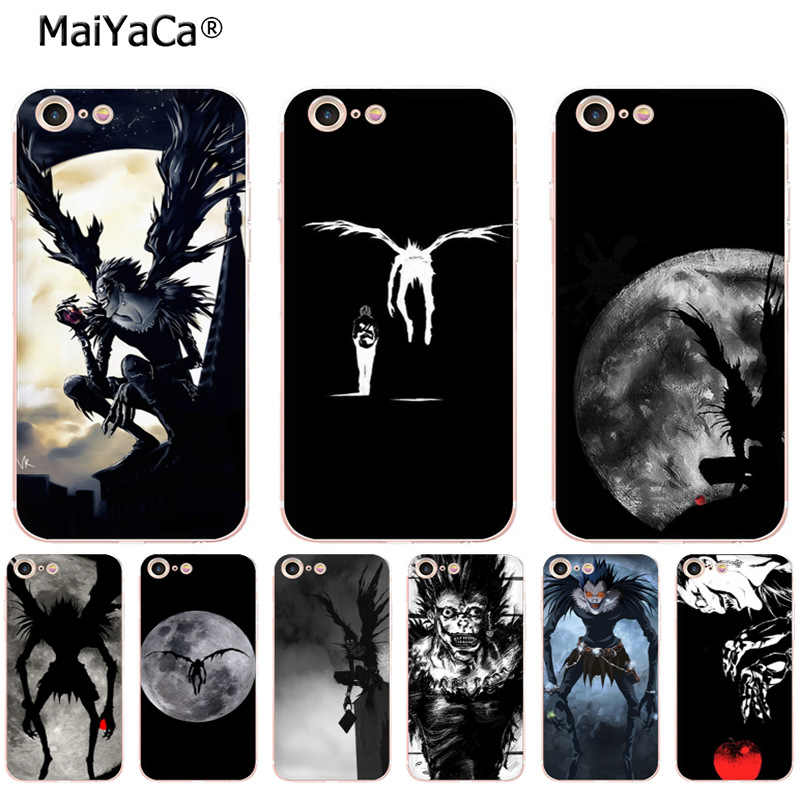 MaiYaCa Death Note Ryuk soft tpu โทรศัพท์สำหรับ iPhone 8 7 6 6S Plus Xs max xr 5S 5C XS MAX XR