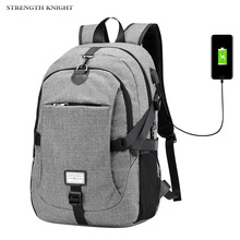 2019 Men Laptop Backpack USB Charging Canvas Backpack Women School Bags for Girls Large Capacity USB Charge Travel Backpack high quality hot sale canvas backpack women school bags for girls large capacity usb charge men laptop backpacks