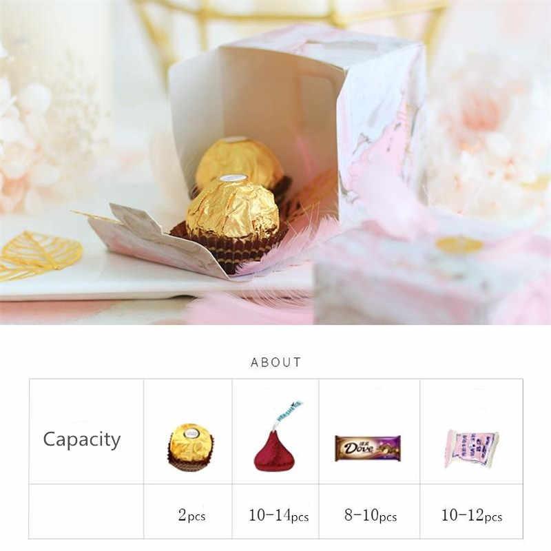 Ангел Свадебная коробочка для сладостей пользу и подарочной коробке красивая бумага сумки для свадьбы для украшения детского душа события вечерние поставки