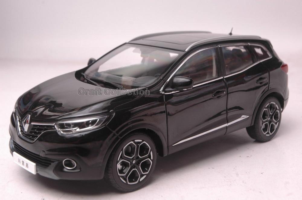 * Black 1:18 RENAULT Kadjar 2016 SUV Alloy Model Diecast Cars Brinquedos Car Replica Modell Auto 1 18 otto renault espace ph 1 2000 1 car model reynolds