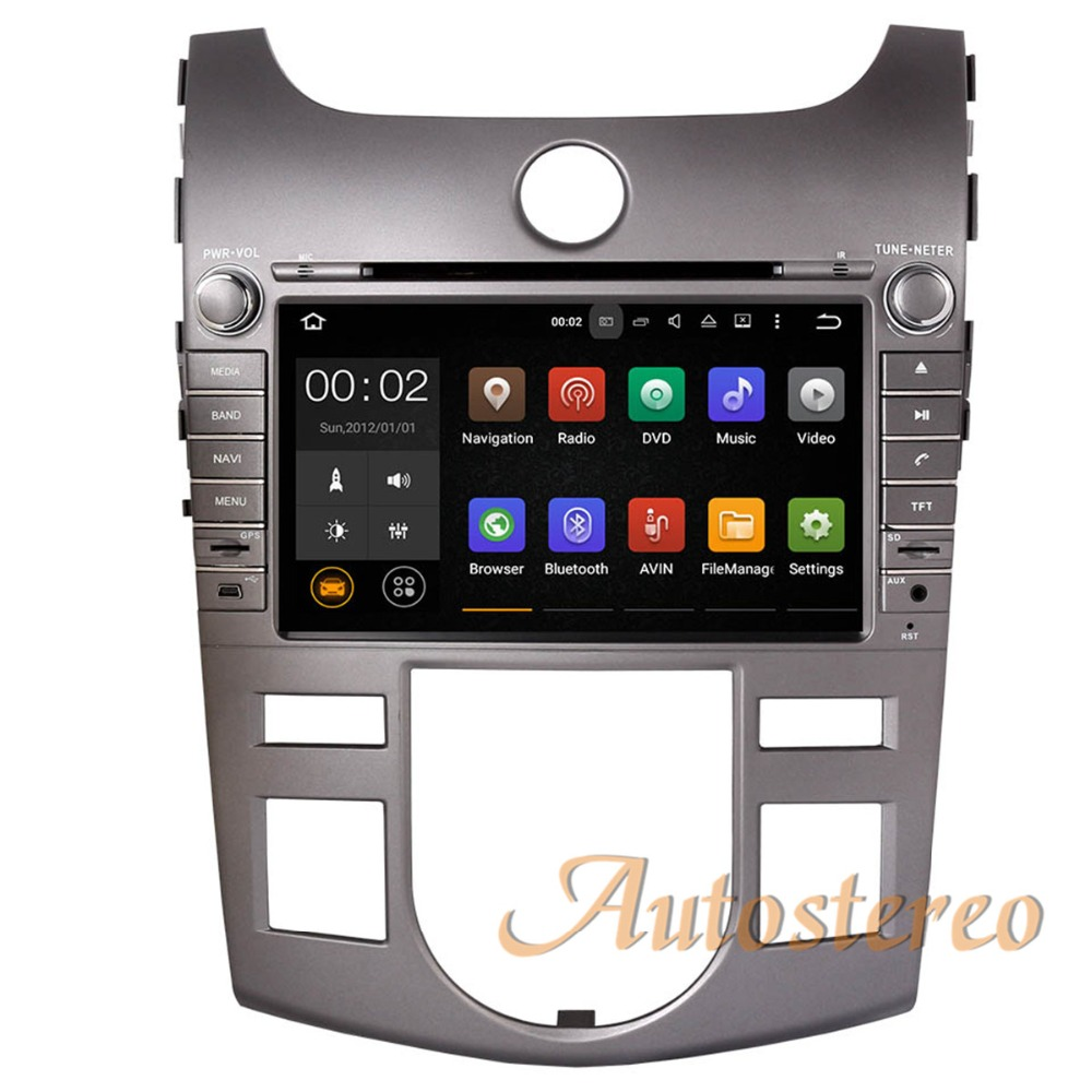 Quad Core Android 9 0 Car CD DVD Player GPS navigation For KIA CERATO FORTE SHUMA