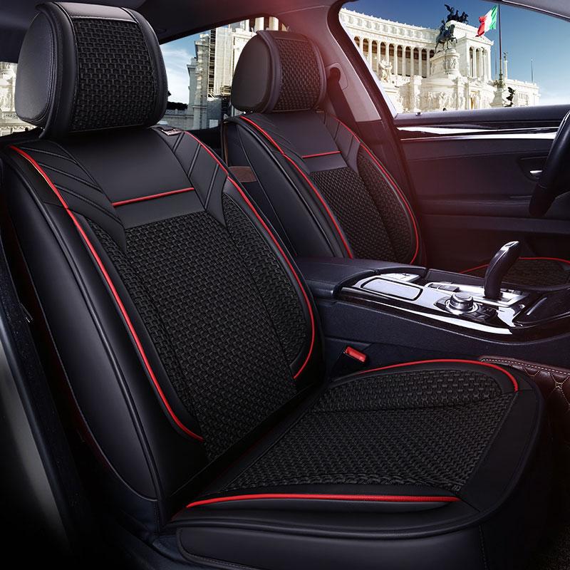 Car seat cover covers Universal auto cushion protector for Kia sorento ALFA 147 156 159 166 romeo giulietta Giulia Stelvio MiTo