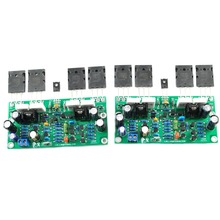One Pair L20 SE Toshiba  Assembled AMP 350W+350W 2SA1943 2SC5200 Dual Amplifier Board 4ohm LJM 2 Boards