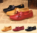 New 2017 cowhide women's flats preppy style genuine leather flat shoes woman fashion tennis moccasins breathable women shoes