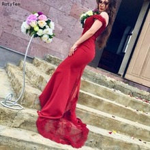 Rotylee Mermaid Prom Dresses with Evening Dress
