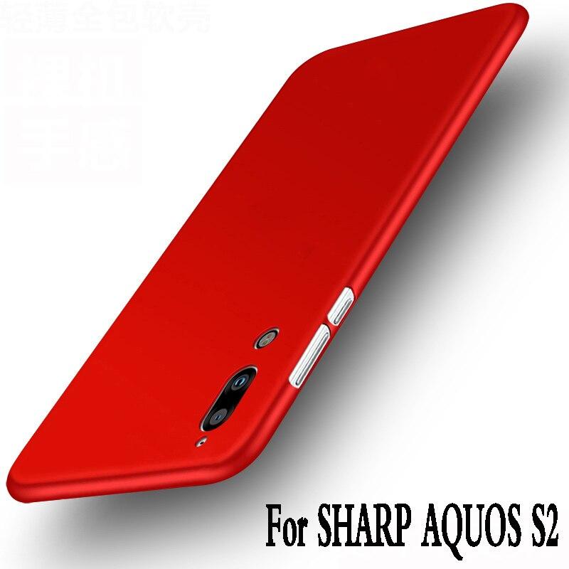 Para Sharp aquos S2 caso silicona 5.5