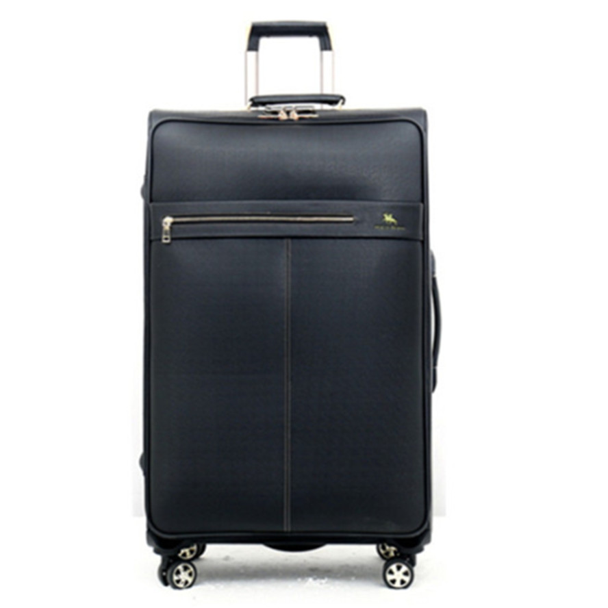20 2428 Inch PU Leather Business Trolley Case Bag universal wheel travel luggage men women Suitcase Bags spinner wheels Pull Rod