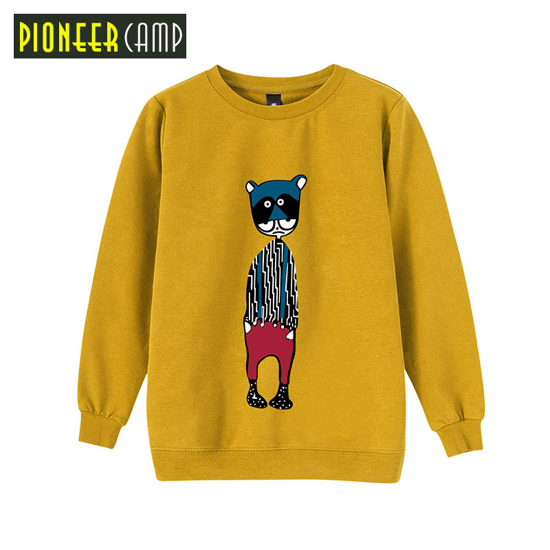 Pioneer Camp Kids 2017 Boys Sport Hoodies T Shirt 4~14T Childrens Sweatshirts Clothes Baby Kids Outwear Coats Fashion Boys C