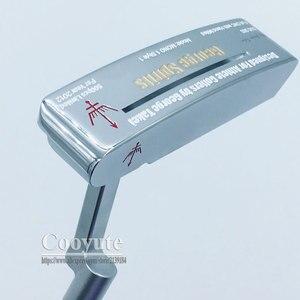 Image 5 - Cooyute新ゴルフヘッドジョージスピリッツMONO1 限定ゴルフパターhaeds tシルバーパタークラブヘッドなしゴルフシャフト送料無料