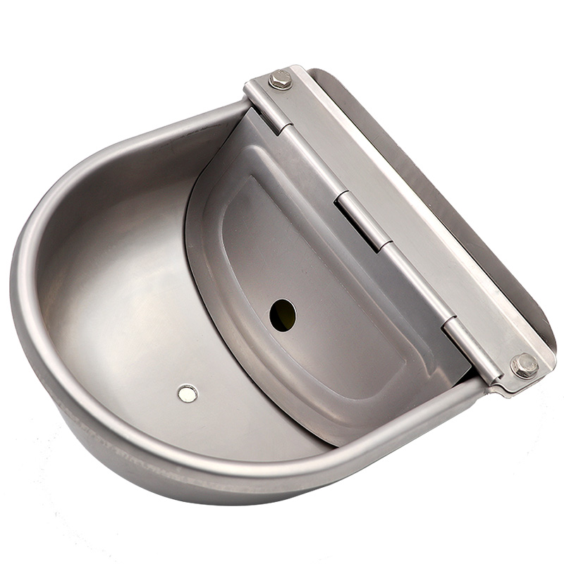 Livestock Cow Horse New Automatic Water Bowls Stainless Steel Drinking Bowl Float Outlet For Cattle Dog  Sheep Pig Feeder 2