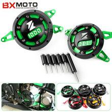 Protecteur latéral du moteur CNC pour moto, 5 couleurs pour Kawasaki Z1000, 5 couleurs, 2010 2019 Z1000SX, 2011 2018