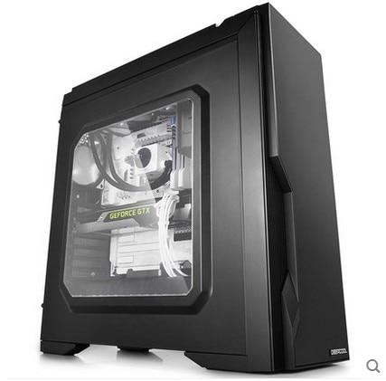 DEEPCOOL Duke new desktop computer diy host transparent large chassis side through atx c ...