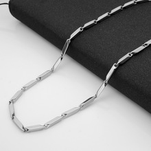 RONGQING 10pcs/lot 361L Stainless Steel 3MM diamond Chains For Jewelry DIY Chain Necklace For Women Men Titanium 2017