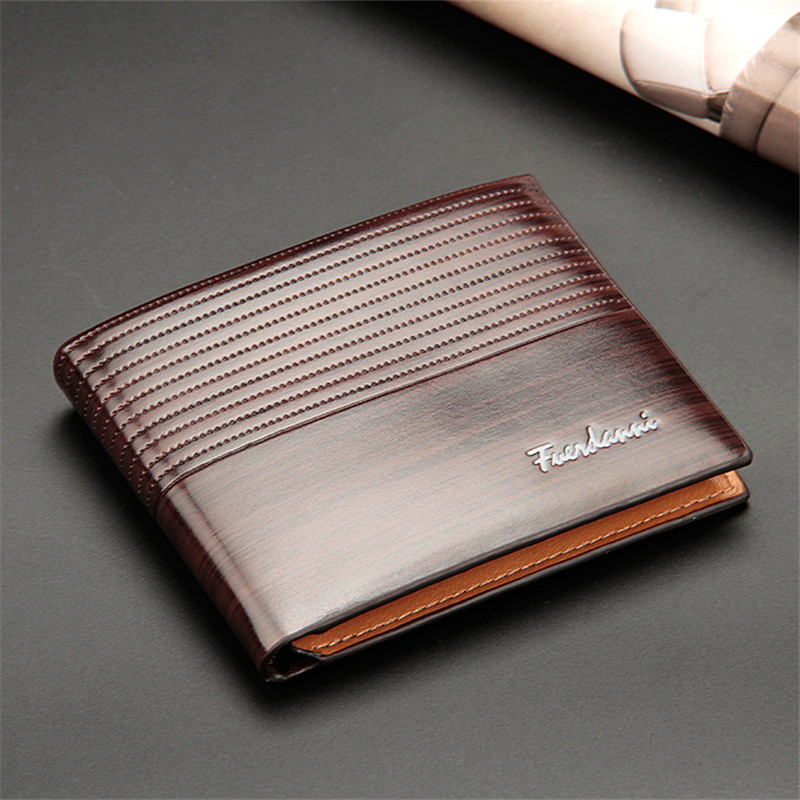 HTB1vkGBkRyWBuNkSmFPq6xguVXay Top 2019 Vintage Men Leather Brand Luxury Wallet Short Slim Male Purses Money Clip Credit Card Dollar Price Portomonee Carteria