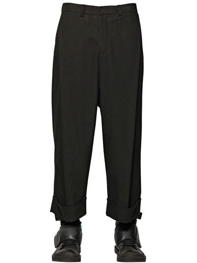 ~ ¡27 Cantante Moda E Nueva 2019 Otoño Invierno Pantalones Suelta Puntos 42 Ultra Traje Casuales Nueve Negro En drIqZvrw