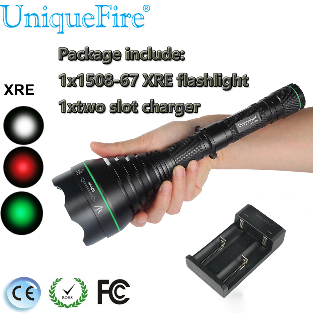 Rechargeable 18650 Battery Charging Two Slot Charger 3 Modes Torch CREE XRE LED Flashlight Outdoor Sports Cycling Fishing Light 2000lm mini led cree q5 handy waterproof rechargeable usb flashlight torch zoomable torch lamp 3 modes light for outdoor sports
