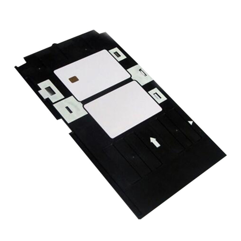 Printing PVC ID Card Plastic Tray for <font><b>Epson</b></font> R330 R260 R265 RX590 RX680 R270 R280 R285 <font><b>R290</b></font> R380 R390 <font><b>T50</b></font> T60 A50 <font><b>P50</b></font> <font><b>L800</b></font> L801 image