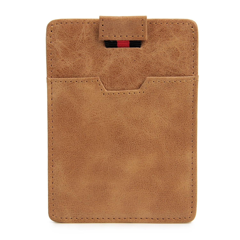 Echtes Leder Rfid Karte Id Halter Tasche Ultradünne Leder Karten-sets Bankkarten Kreditkarte Anti-magnetische Scannen