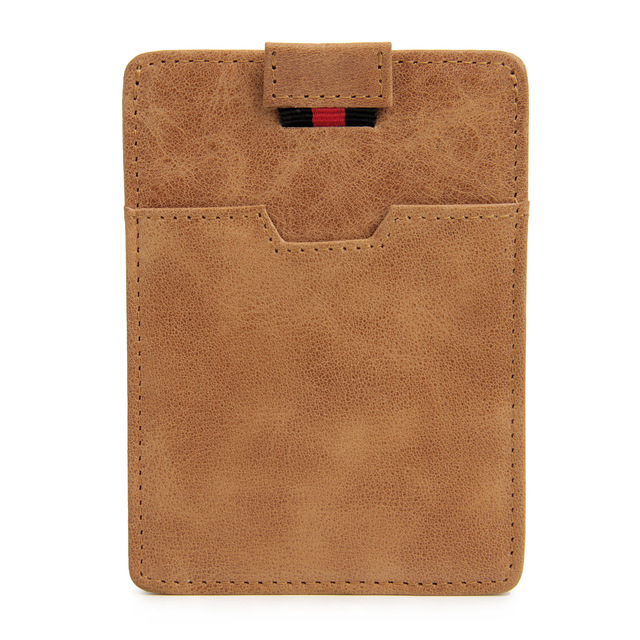 Genuine Leather RFID card ID Holders bag ultra - thin leather card sets bank cards credit card anti - magnetic anti - scanning