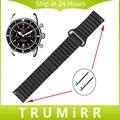 18mm 20mm 22mm 24mm genuíno relógio de couro banda para breitling fivela magnética cinta cinto de liberação rápida pulseira marrom preto azul