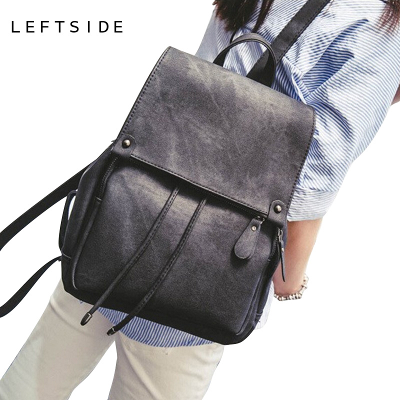 Leftside 2017 School Back Packs New Korean Backpacks Fashion Denim Women Backpack Cute Girls