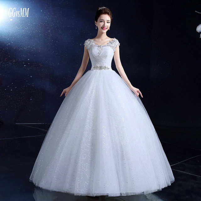 Y Ivory Wedding Gowns Long Bridal Dresses 2018 Red Dress Plus Size Liques Beading Lace