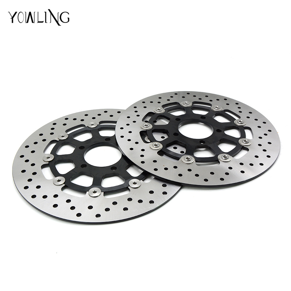 motorcycle Aluminum alloy  & Stainless steel Front Brake Disc Rotor For YAMAHA FZR400 1988 1989 1990 1991 1992 1993 1994 1995 motorcycle front and rear brake pads for yamaha fzr 400 fzr400 3en1 1988 brake disc pad