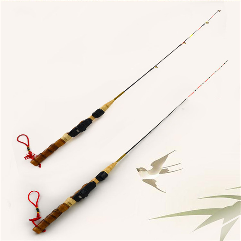 2016 new bamboo fishing rods 70cm ultralight fishing boat for Hard and soft fishing