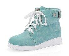 ผู้หญิงที่มีคุณภาพสูงใหม่ข้อเท้าบู๊ทส์รอบนิ้วเท้าสีดำสีฟ้าสีชมพูBiegeแฟชั่นรองเท้าผู้หญิงสหรัฐขนาด4-10.5