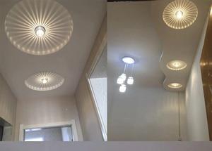Image 3 - 3W LED Aluminum Ceiling Light Fixture Spot Light Shade Lamp Lighting for ceiling wall corridor luminaire