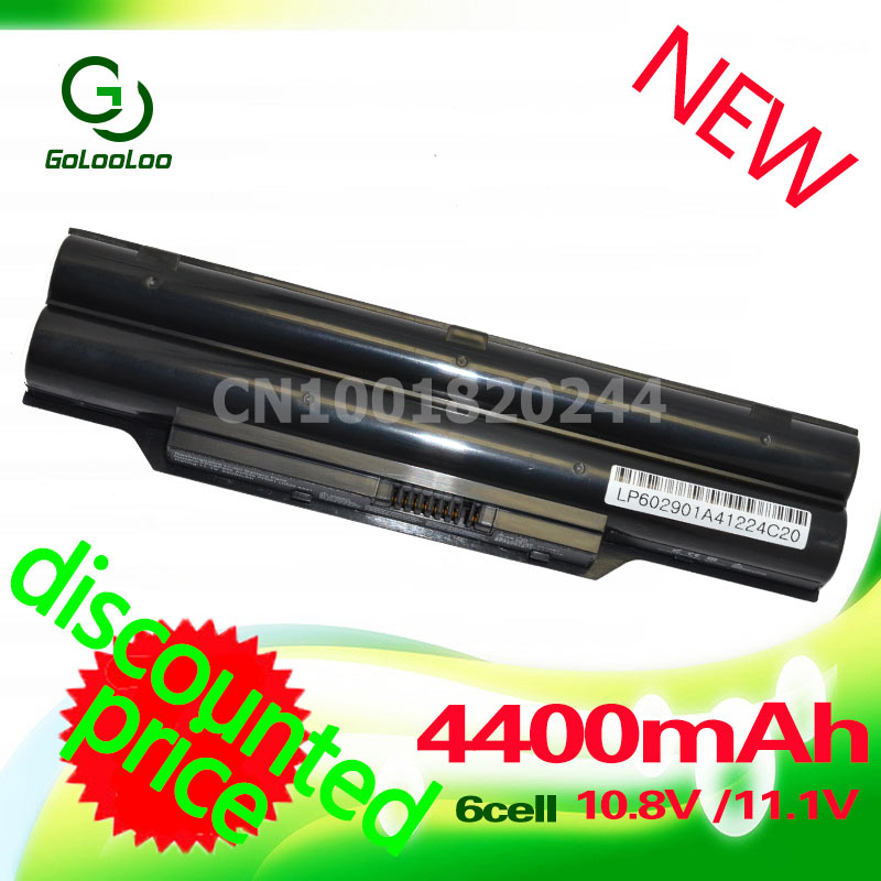 Golooloo 4400mah battery BP250 FPCBP250 FPCBP250AP For Fujitsu LifeBook AH531 A531 A530 AH530 LH52/C LH520 LH530 PH521 CP477891 new us keyboard for fujitsu lifebook ah530 ah531 nh751 a530 a531 black white english laptop keyboard
