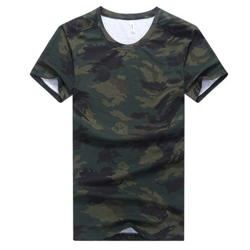 AmberHeard Fashion Summer Men Short Sleeve T-shirt Casual Camouflage Cotton Elastic Fitness Tops Tees T shirt For Men Clothing fashion summer women camouflage loose t shirt short sleeve casual ladies tops summer bandage hollow out t shirt tops