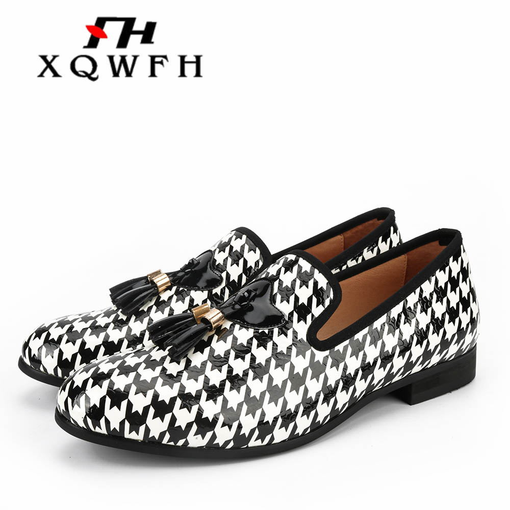 Men Shoes Stylist-Sneakers White Printed And Handmade Men's