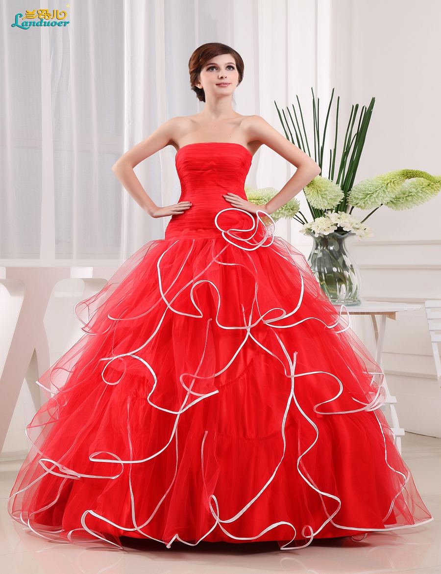 Online Buy Wholesale red ball gowns from China red ball gowns ...