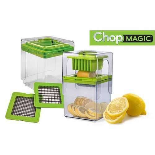 Kitchen Accessories Chop Magic Food Chopper Fruit Vegetable Slicer Manual  Processor Shredders Kitchen Tools Vegetable Choppers In Vegetable Choppers  From ...