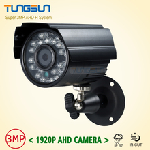Hot Super HD 1920P IMX322 AHD-H System CCTV AHD Camera Outdoor Waterproof Small Metal Bullet IR 3MP Security Surveillance