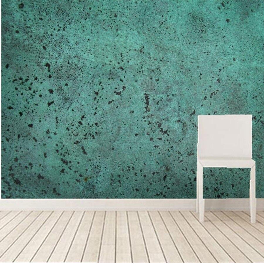 retro Nostalgia Bare Concrete Wall Paper Mural 3d Custom 3d Mural Ktv Bar Living Room Tv Sofa Wall Bedroom Papel De Parede