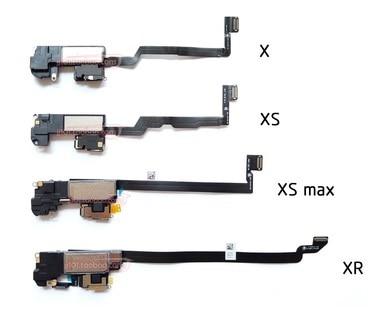 Наушники для iPhone X / XS / XSM Max XR XSMax 11 11PRO MAX, динамик с датчиком приближения, гибкий кабель