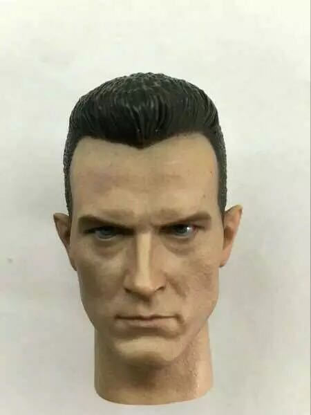 Custom 1/6 Terminator 2 The Judgement Day T1000 Head Sculpt Robert Patrick Headplay
