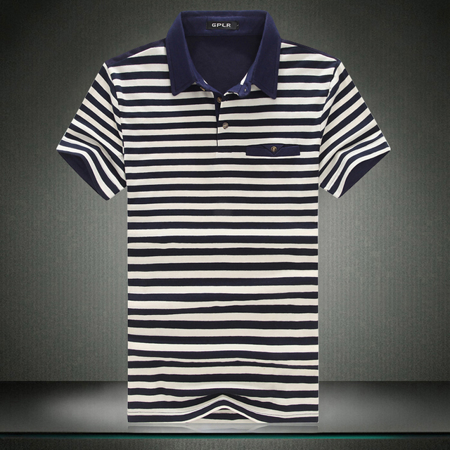 2017  New Fashion Striped Tshirt Man Summer Short Sleeved T Shirts Men's Clothing Casual Tops Multicolor stripes Tees Plus Size