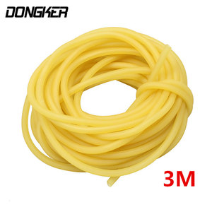 Image 5 - 3M 3*5mm Hunting Shooting Rubber Band Natural Stretch Slingshot Elastic Latex Tube Fitness Medical Rubber Band Bungee Equipment