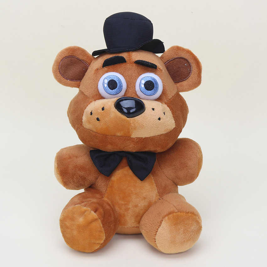 25cm cinco noches en Freddy's 4 FNAF juguetes de peluche Freddy Fredbear Bonnie chica mangle astuto oso juguetes de peluche muñeca niños regalo