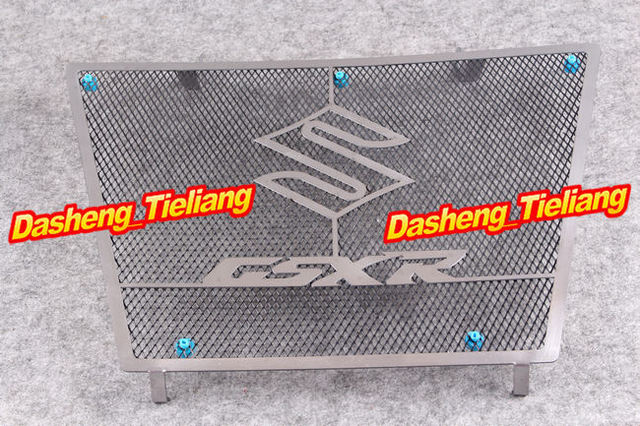 Para Suzuki 2009-2012 GSXR 1000 GSXR1000 motocicleta radiador parrilla Guard Protector de la cubierta, accesorios de los recambios