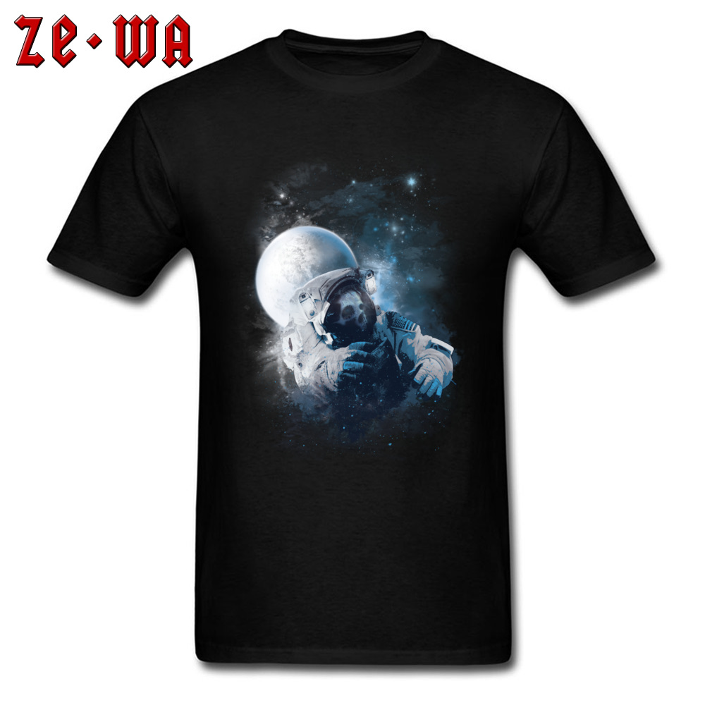 Vintage Tshirts Oversized Space Spaceman Failure Dead Skull T-Shirts Men Fashion Print T Shirts 3D Hiphop Rock Tshirts Mens image